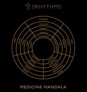 Medicine-Mandala Gabrielle Rot
